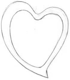 Heart Pencil Sketch Drawing