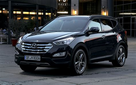 hyundai santa fe  wallpapers  hd images car pixel