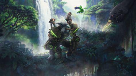 World Of Warcraft Animated Wallpaper - animated wallpaper world of warcraft by ginnypinnyart on
