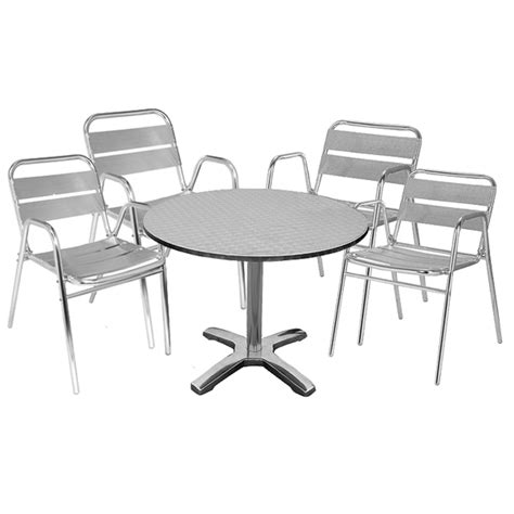 bistro table and 4 chairs outdoor table and 4 chairs stainless steel bistro chairs