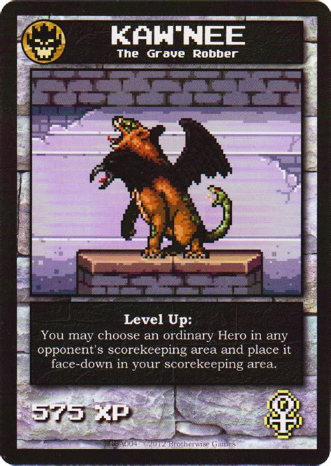 Submitted 1 month ago by narwhal_3033. Kaw'nee   Boss Monster the Dungeon-Building Card Game Wiki   FANDOM powered by Wikia