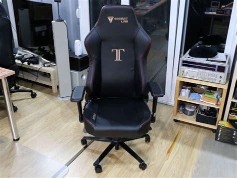 secretlab titan chair review techpowerup