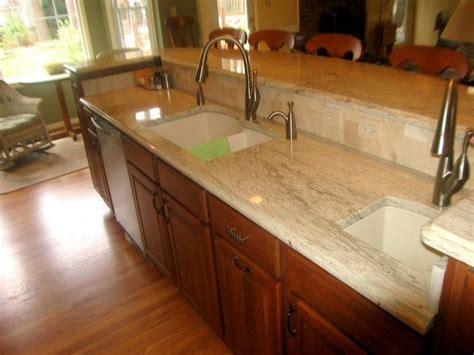 Kitchen Maple Floor With Maple Cabinets, Glazed Maple
