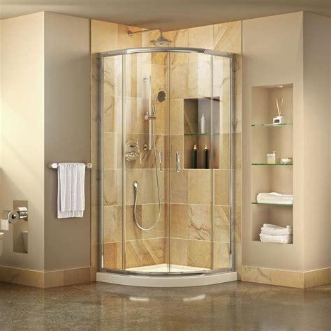 Kitchen Bench Ideas - shop dreamline prime white acrylic floor 2 corner shower kit actual 74 75 in x 33