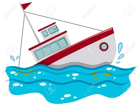 Sinking Boat Vector by Sinking Boat Clipart Paberish Me