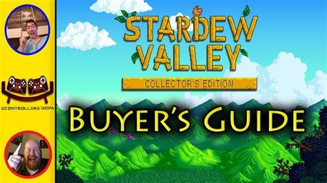 stardew valley collectors edition stardew valley collectors edition buyers review guide