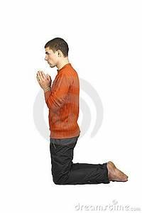 A Man Praying On His Knees Stock Images - Image: 17191204