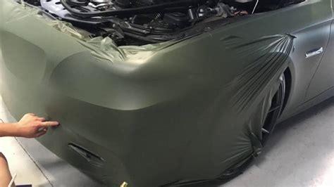 escc motorsports bmw  series wrapped  matte military
