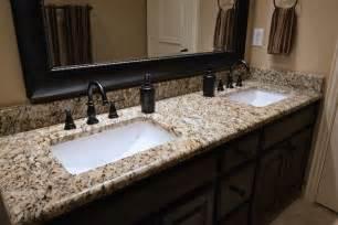Santa Cecilia Granite Bathroom Vanity