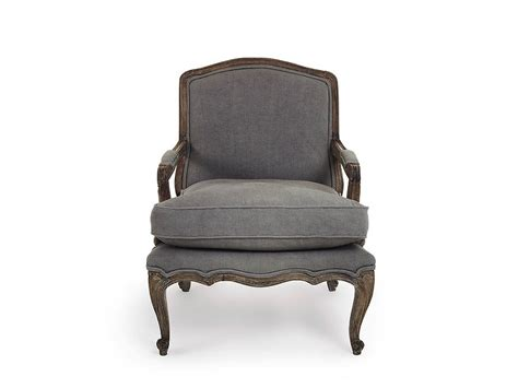 Rochelle Dove Grey French Armchair By Within Home