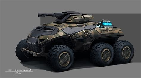 concept cars and trucks concept military vehicles by sergey kondratovich