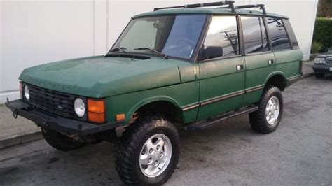 automotive service manuals 1992 land rover range rover electronic toll collection solid rustfree 1992 land rover range rover swb classic cnty 3 9l for sale photos technical