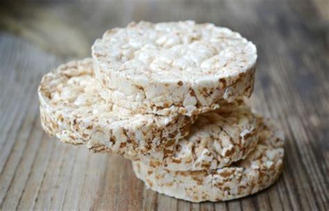 marques de cuisine la galette de riz soufflé un aliment à absolument éviter
