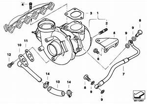 Original Parts For E60 530d M57n Sedan    Engine   Turbo