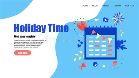 holiday time stock illustrations  holiday time