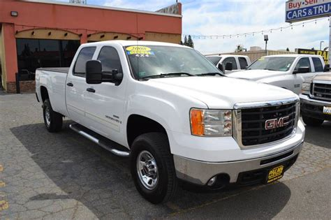 gmc sierra hd wd sle dr crew cab lb srw  citrus heights ca palms auto sales