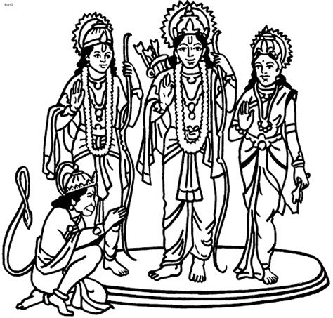 happy diwali   cartoon coloring drawing pages