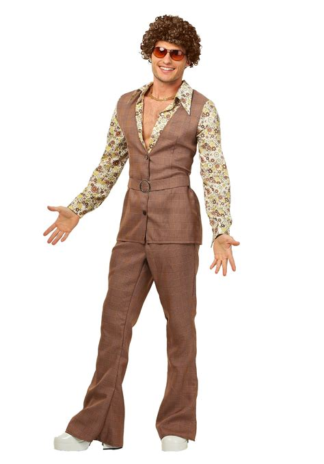 Halloween Decorations Pinterest Outdoor by Men S 70 S Vest Costume