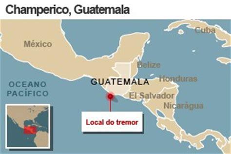 G1 Número de mortos em terremoto na Guatemala sobe a 39
