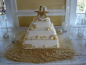 tbdress blog what kinds of beach themed wedding cakes look With beach themed wedding decorations