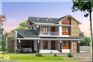 Stunning Villa House Designs Photos by 2 Beautiful Villa Elevation Designs In 2700 Sq