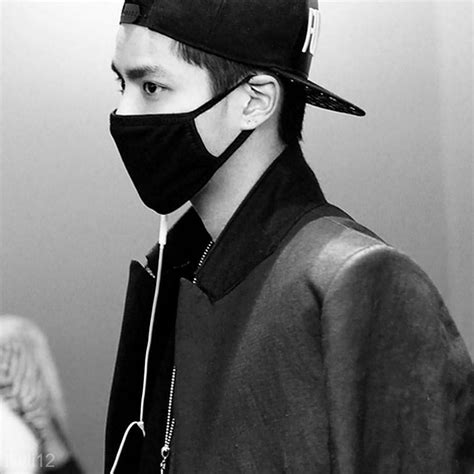 unisex kpop idols  black cotton face mouth mask bigbang