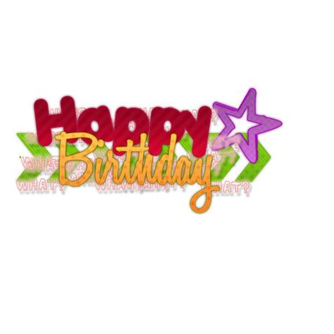 birthday png happy birthday texto png pedido