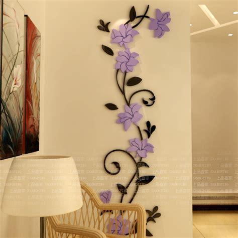aliexpress buy flower entranceway tv background wall stickers modern decoration