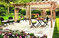 nice garden design patio ideas Kid Friendly Backyard Ideas On A Budget Images - GoodHomez.com