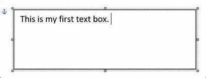 Text Box Word Create Microsoft Format Boxes