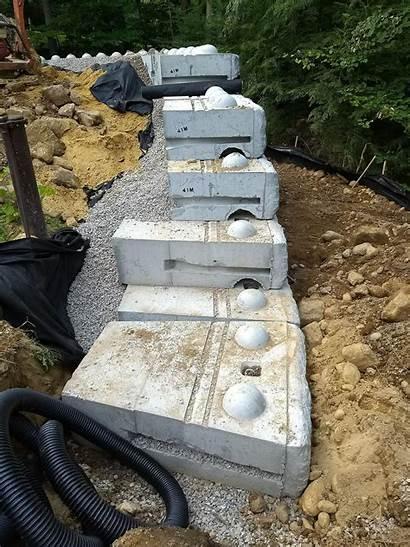 Retaining Wall Precast Concrete Blocks Build Lego