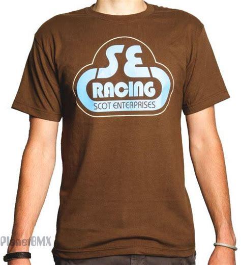 "Coffee logo business card and t shirt design. SE Racing ""Bubble Logo"" T-Shirt COFFEE BROWN - Planet BMX"