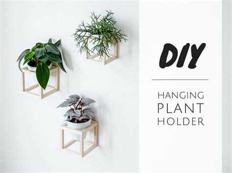 Diy Hängender Pflanzenhalter