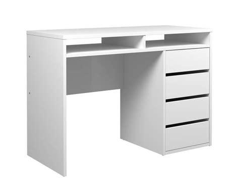 bureau plus haguenau bureau plus wit hoogglans met 2 vakken 4 lades 110x77