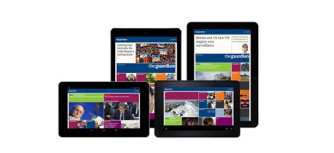 kindle for android android and kindle tablets get dedicated guardian app