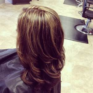 Caramel And Red Highlights For Brown Hair - Hairs Picture ...