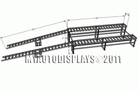 Daytona Car Display Ramps