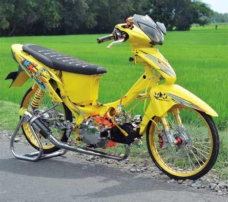 Modifikasi Supra X 125 Yg Baru by 50 Gambar Modifikasi Honda Supra X 125 Simpel Elegan