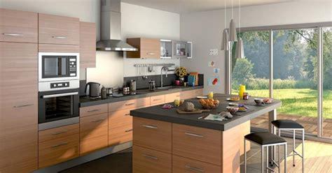 plan de cuisine castorama exemple cuisine avec ilot central cuisine en image