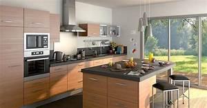 Baignoire Ilot Lapeyre : cuisine avec lot par lapeyre ~ Premium-room.com Idées de Décoration