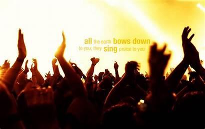Earth Praise Sing Down Bows Praises Christian