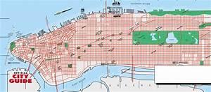 Plan De Manhattan : road map of manhattan manhattan road map ~ Melissatoandfro.com Idées de Décoration