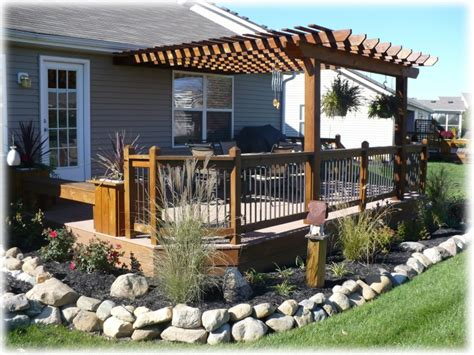 decks  design custom deck pergola builder