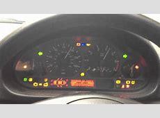 BMW 316 ti E46 Dashboard Diagnostic Light Test YouTube
