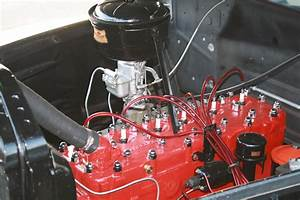 1950 Ford Engine Paint