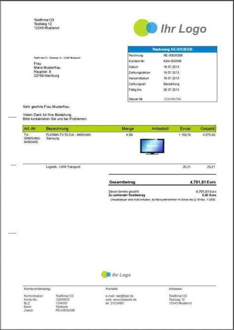 Rechnung Schreiben Programm Kostenlos Chip Rechnung Schreiben
