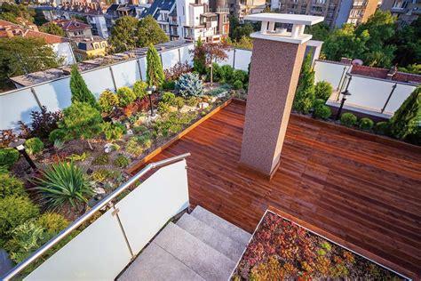Mit Dachterrasse by Dachgarten Dachterrasse G 228 Rten Eckhardt Gmbh Co Kg