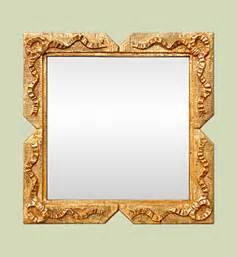 Petit Miroir Carré : miroir dor miroirs anciens bois dor s miroirs anciens ~ Teatrodelosmanantiales.com Idées de Décoration