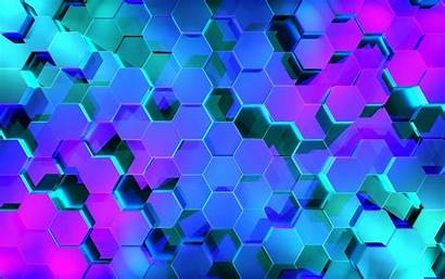 Hexagon Background Wallpapers 3d 4k Abstract Backgrounds