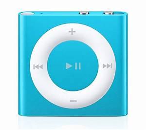 Buy APPLE iPod Shuffle - 2 GB, 4th Generation, Blue | Free ...